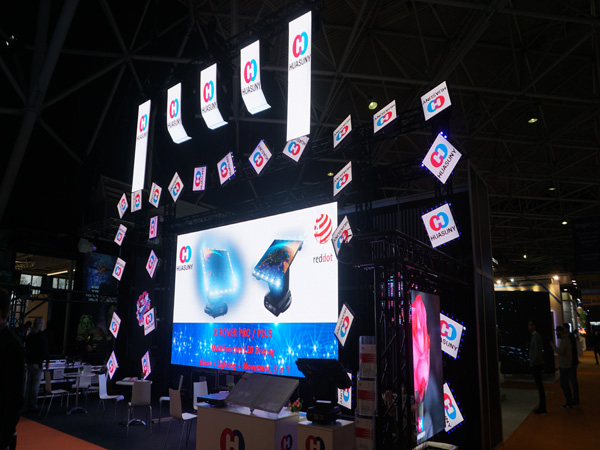 Huasuny Moving Head LED Panels X Rover Plus for ISE Show